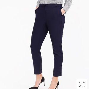 JCrew navy Cameron pants size 6